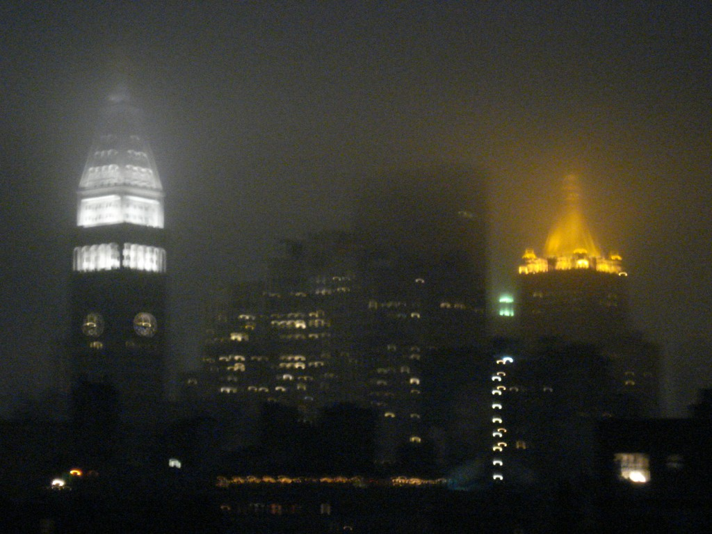 New York City in June Gloom
