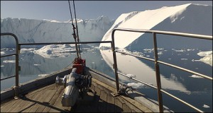 The Ilulissat glacier has retreated by approximately 15km over the past decade