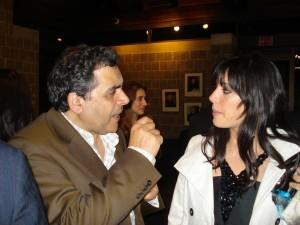 Habib & Nadine deep in Maghreb-Mashreq discussions