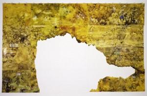 Laleh Khorramian Eden - 1st Generation 2005 Ink, oil on paper 223.5 x 355.6 cm