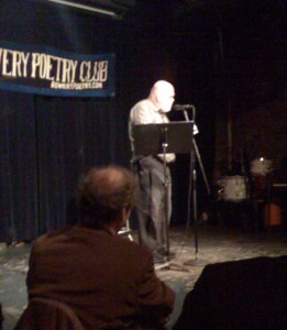Ron Silliman reading from The Alphabet