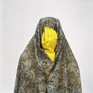 Shadi Ghadirian Untitled from the Like Everyday Series  2000-2001 C-print 183 x 183 cm
