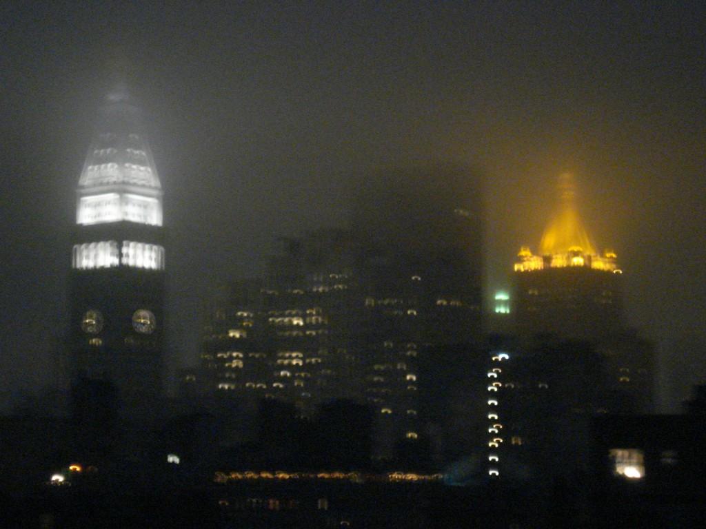 New York City in June Gloom