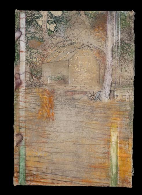 _SYL4462 La Danse 3, Pastel sur papier 98x66 cm