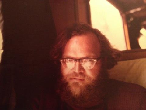 Ken Irby in London, circa 1974