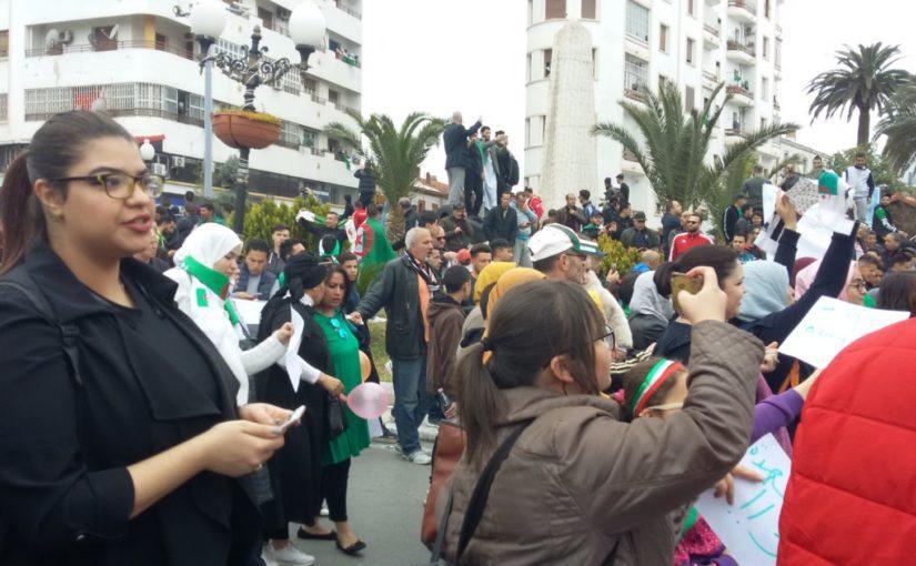 "Constantine, Algeria: ""Makach al khamssa ya Bouteflika"" — Photos by Habib Tengour"